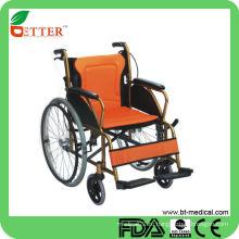 Алюминиевая ручная инвалидная коляска