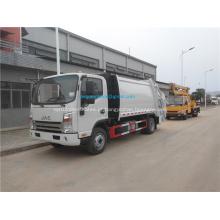 Preço de caminhões de resíduos de compressão de lixo JAC 4x2 5CBM