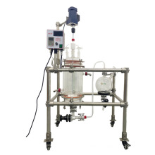 Portable 5L Peptide synthesis Reaction Kettle glass reactor