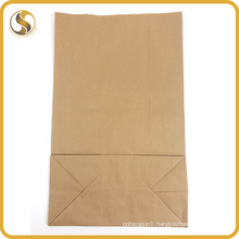 High Quanlity Recycle Brown White Kraft Fast Food Paper Bag