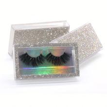 SL010H Hitomi Mink Fur Lash Wholesale Long Eyelash soft natural mink eyelashes Fluffy 25mm Magnetic Mink Eyelashes
