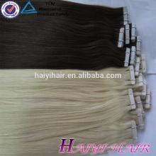Thick Bottom Meistverkaufte Ali Gold Supplier Eigene Marke Tape Hair Extention