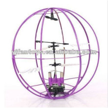 Outdoor Spielzeug 2CH RC Space Flying Ball 6041B RC Flying UFO Spielzeug mit Preis