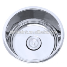 304 stainless steel round bowl sinks for small kitchen