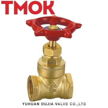 brass internal thread wheel handle brass gate valve