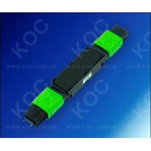Atténuateur optique de fibre de MPO pour la transmission à haute densité