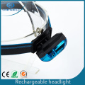 Venta al por mayor Built in Battery USB Charging Headlight