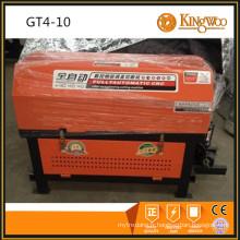 La plus nouvelle conception barre d'acier rebar redressant la machine de coupe de KINGWOO MACHINERY