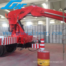 Knuckle Boom Lorry Loading Crane of Low Self Weight