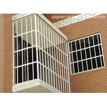 Guangdong polvo de aluminio revestido parrilla de la ventana, guardia de la ventana