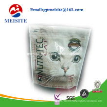 Almohadilla de plástico de alta calidad Doypack Zipper para mascotas