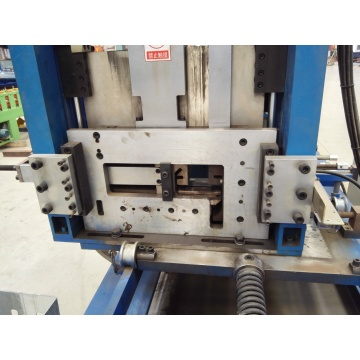 Purlin Roll Forming Machine untuk C / Z 100-300mm