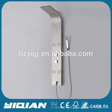 Светодиодный свет 304 Горячая продажа душевой панели из нержавеющей стали