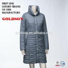 Women Light Goose Long Down Coat For Customized Order