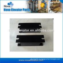 Componente del elevador, carga máxima 6000kg, dureza 65-75, cojín anti-vibración para la cabina