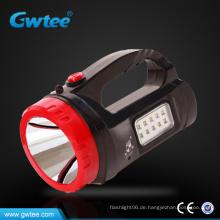 Tragbare LED wiederaufladbare Lampe, wiederaufladbare LED-Suchscheinwerfer