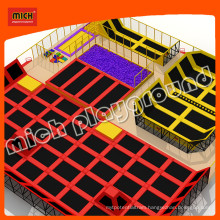 Mini Outdoor Trampoline Park Safety with Handle