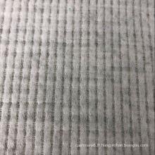 Tissu à carreaux gaufrés à vendre