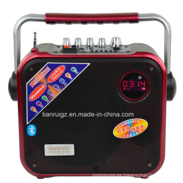 Altavoz inalámbrico portátil y recargable de 8 pulgadas Mini 40W Power F83