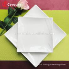 Белая фруктовая пластина