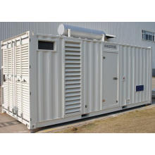 1000kw / 1250kVA Containerized Silent Diesel Generator mit Perkins Motor
