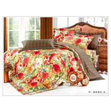 100% algodão cute flor duvet cover conjunto floral coreano estilo atacado edredom conjuntos de cama
