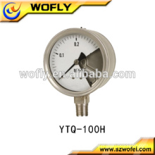 "dry 4"" dial nks differential pressure gauge"