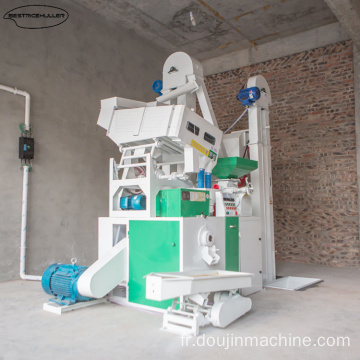 machine de mouture de riz populaire