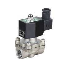 KLQD brand 1/2 inch 12V 24V DC voltage magnetic latching solenoid valve for air water ZBV model