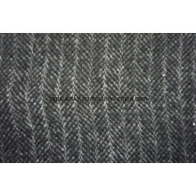 Different Double Face Black&White Wool Fabric