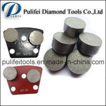 Бриллиант округлой формы сегмент шлифовальный для пола и бетона