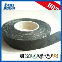 Cinta adhesiva aislante de algodón tejido negro
