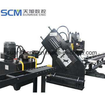 Flat+Bar+Channels+Punching+Marking+Shearing+Machine