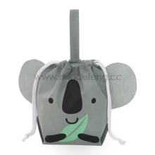 A Grey Non-woven Koala Party Handle Packing Bag