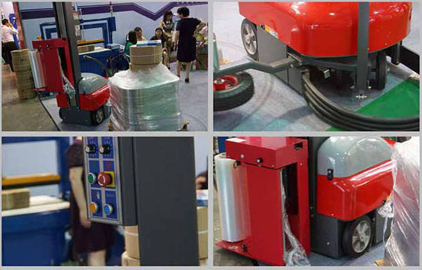 Intelligent Robot Self-propelled Wrapping Machine
