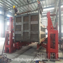 The latest high quality chain Type Turning-Over Machine for tank trailer semi-trailer and dump truck