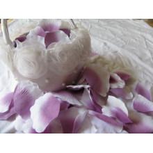 Favores promocionales de la boda para el pétalo / el precio de fábrica Decoración popular del pétalo de Rose de seda