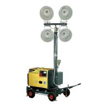 Gerador diesel portátil Torre de luz móvel (DG16000MLT)
