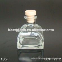 yurt aroma glass bottle; clear glass bottle with rubber stopper