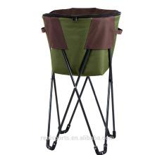 Bolsa de hielo plegable necesaria del pvc de la bolsa de hielo de la silla que acampa