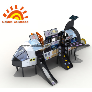 Costum Universe Plain Outdoor Playground Equipment en venta