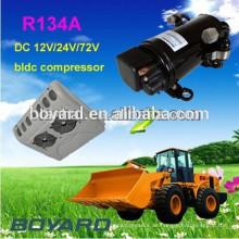 Automotive elektrische Klimaanlage Kompressor R134a Dreh-DC-Kompressor