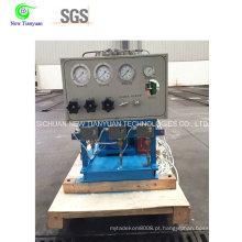 Compressor de diafragma de gás amoníaco usado na indústria química