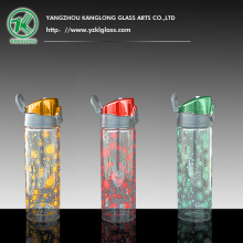 Single Wall Glass Bottle for Sport
