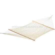 Hamac de corde de coton de 200 * 100cm