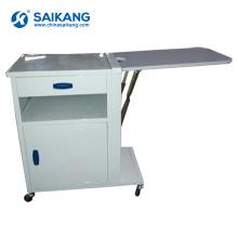 SKS056 Metal Useful Medical Hospital Bedside Medicine Cabinet