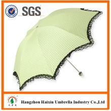 Usine Direct à peu de frais fait sur commande parapluie Parasol de lacet pour Promotion