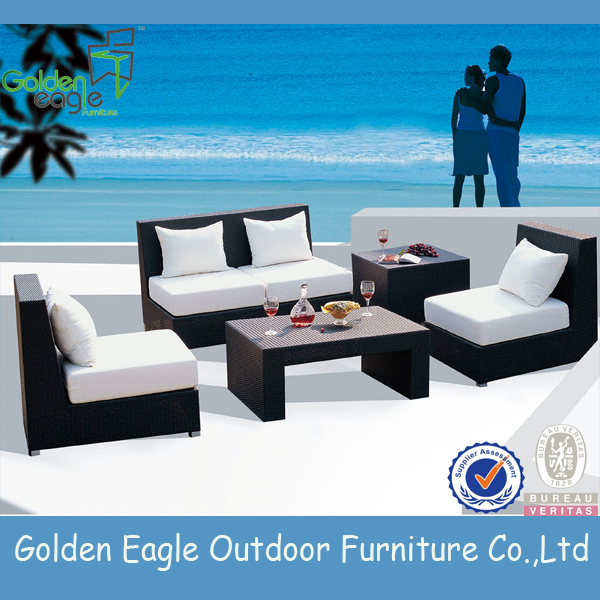 outdoor garden furniture PE rattan