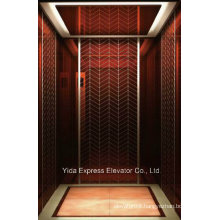Rose Gold Mirror Stainless Steel Home Elevator