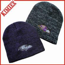 Inverno moda Marled malha chapéu